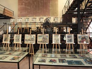 A exposição pretende demonstrar a importância dos acontecimentos de 11 de Setembro na imprensa Foto: DR