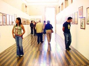 O projecto pretende integrar as pessoas com deficiência no espaço dos museus Foto: Ricardo Fortunato / Arquivo JPN