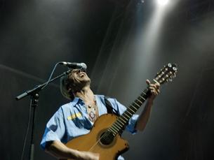 O Manu Chao foi a estrela desta primeira noite de Marés Vivas 2011 Foto:  Sara Sampaio