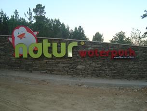 O Parque de Diversões do Douro tem abertura agendada para o Verão Foto: DR