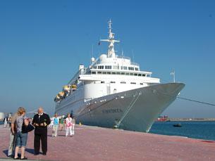Leixões vai receber os maiores navios de cruzeiro Foto: Tânia Monteiro