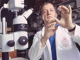 Mario Capecchi, um dos laureados Foto: DR