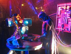 Os Noidz passam pelo Porto na noite de Halloween para apresentar o espetáculo Trance Metal Age Foto: DR