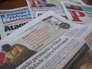 David Pontes começou por trabalhar em jornalismo local no Público, num caderno de 16 páginas dedicado, apenas, a informação local Foto: Filipa Flores/Arquivo JPN