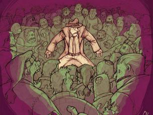 "O livro de banda desenhada ""O Baile"" foi editado pela Kingpin Books Foto: DR"