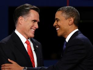 Mitt Romney e Barack Obama disputaram o cargo de Presidente dos Estados Unidos da América Foto: DR
