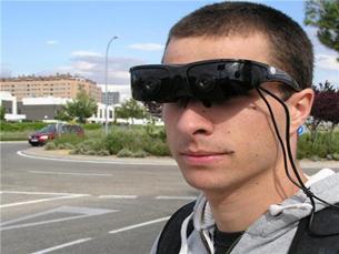 O aspeto dos óculos deve agora ser melhorado para uma eventual entrada no mercado Foto: Universidade Carlos III de Madrid