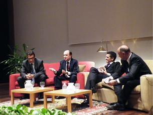 Papel das pequenas e grandes empresas encerrou o ciclo de debates do fórum Olhares Cruzados Foto: Sofia Maciel
