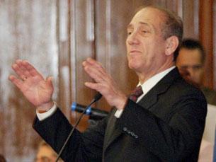 """Olmert foi acusado de """"falhas severas"""" no início da guerra do Líbano Foto: Antônio Milena/ABr."""
