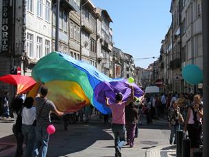 A marcha LGBT começa na Praça da República Foto: Arquivo JPN