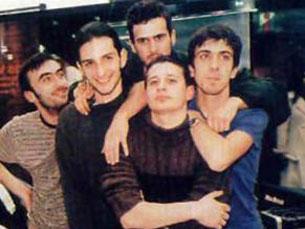 """Os membros dos Ornatos Violeta continuam amigos, apesar do """"fim"""" da banda Foto: DR"""