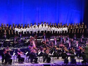 """A """"Orquestra Estúdio"""" foi a casa de 83 músicos, em 2012 FOTO: DR"""