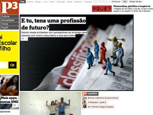 O P3 surge de um consórcio entre o jornal Público e a Universidade do Porto Foto: DR