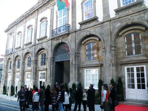 Alguns dos workshops vão decorrer nos Palácio das Artes, no Largo de São Domingos Foto: Daniela Espírito Santo / Arquivo JPN