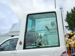 Papa Bento XVI agradeceu a hospitalidade de todos os portugueses Foto: Ana Mendes