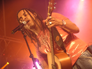 Banda de Porto Alegre teve uma óptima recepção Foto: Nelvino Lima