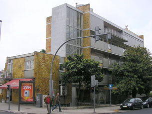 """O edifício Parnaso vai receber a exposição do projecto """"HóSPEDE"""" Foto: DR"""