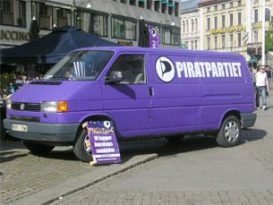 O Partido Pirata Sueco é um caso sério de sucesso político Foto: Joana Coimbra Martins