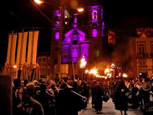 Na cidade de Braga, conhecida pelos festejos da Semana Santa, são esperados muitos turistas Foto: DR