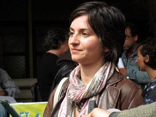 Paula Gil foi uma das responsáveis pelo protesto que se espalhou pelo país Foto: DR