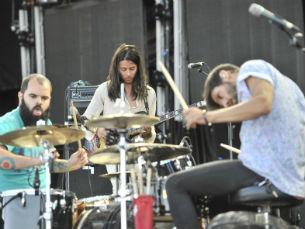 A banda lisboeta PAUS atua no palco secundário do Alive a 12 de julho Foto: Rúben Viegas