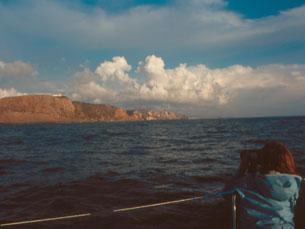 Pedro Neves Marques viajou de barco pela costa portuguesa Fotos: DR
