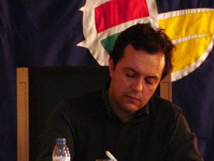 Pedro Magalhães apresentou estudo na Lusófona Foto: Cristina Villas