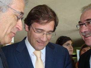 Pedro Passos Coelho pede uma revisão constitucional nas políticas sociais e na regulação da economia Foto: Ana Mendes