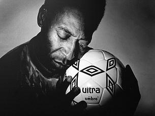 Pelé, o melhor jogador do Mundial de 1970, brilhou numa seleção que muitos consideram a melhor de todos os tempos Foto: