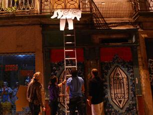 Movimento do GIP recupera tradição portuguesa de estender roupa nas varandas Foto: GIP