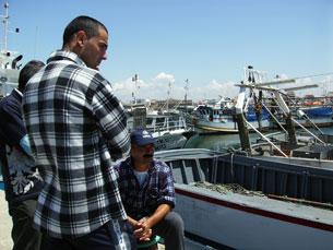 Francisco Louçã pede maior abertura do governo para a resolução do problema do sector das pescas. Foto: Marisa Ferreira