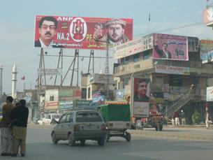 Peshawar, no noroeste do Paquistão, foi palco, ontem, de novos ataques suicidas Foto: Omer Wazir /  Flickr