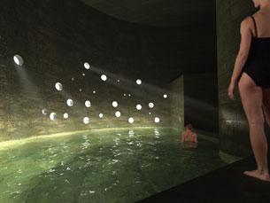 Um dos projectos sugere uma piscina num reservatório Foto: DR