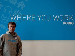 A Podio existe há menos de um ano e venceu o prémio de melhor startup europeia da TechCrunch Foto: DR