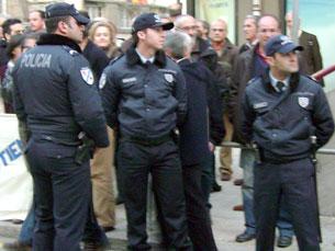 """Polícias não podem ter um estatuto equivalente ao dos funcionários públicos porque são """"um alvo"""" Foto: Pedro Rios / Arquivo JPN"""