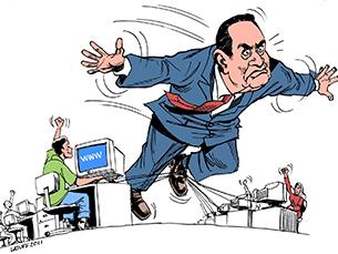 As páginas satíricas na Internet podem influenciar a imagem dos candidatos a cargos políticos e dificultam a ação dos assessores de comunicação Foto: DR