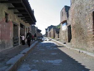 O governo italiano vai contar com apoio da UE e do sector privado para o restauro de Pompeia Foto: DivesGallaecia/Flickr