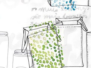 """O concurso """"Recicl'arte"""" procura um novo desenho para os ecobags, sacos próprios para a reciclagem Foto: Sociedade Ponto Verde"""