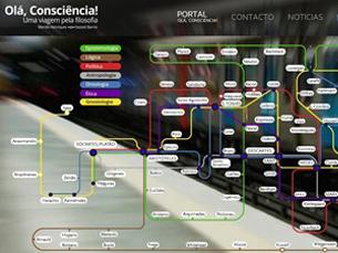 """Este é o segundo MOOC disponibilizado pela plataforma """"Olá Consciência!"""" Foto: DR"""