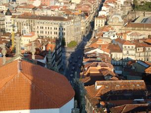 A cidade do Porto vai ser visitada em roteiro organizado pela UP Foto: Arquivo JPN