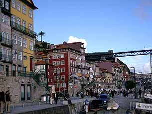 Projecto abrange a zona que vai da ponte D. Luís I até à Igreja de S. Francisco Foto: Alice Barcellos