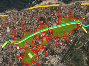 A Via irá ligar a Praça do Império, na Foz, à Boavista Foto: DR