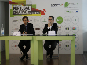 A ADDICT e a Fundação da Juventude estiveram representadas por Carlos Martins e Filipe Araújo Foto: Catarina Gomes Sousa