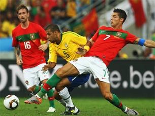 """Cristiano Ronaldo foi eleito o """"Homem do Jogo"""" Foto: FIFA"""