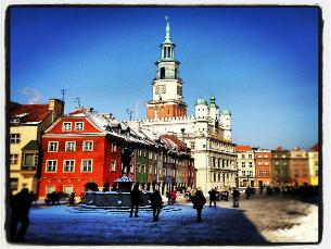 A estudante ucraniana de hotelaria está em Poznan há seis anos Foto: Michał Koralewski/ Flickr