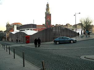 Projecto da Bragaparques prevê um pavimento ondulado Foto: DR