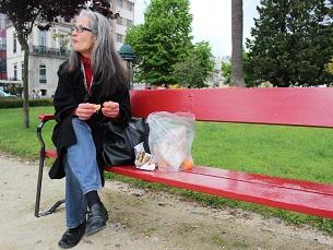 A Praça da República é um dos sítios eleitos para apreciar a refeição Foto: Daniela Mesquita