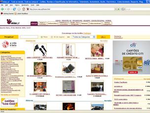 O site de leilões Miau.pt foi lançado em 2000 pela Sonaecom Foto: DR