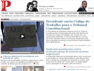 Público.pt arrecadou dois prémios Foto: DR