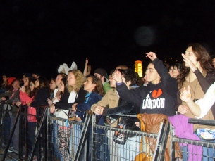 Mesmo na véspera do cortejo, ninguém quis faltar à noite do Queimódromo Foto: Marília Freitas